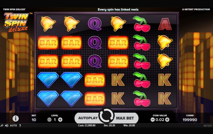 twinspin deluxe slot symbols